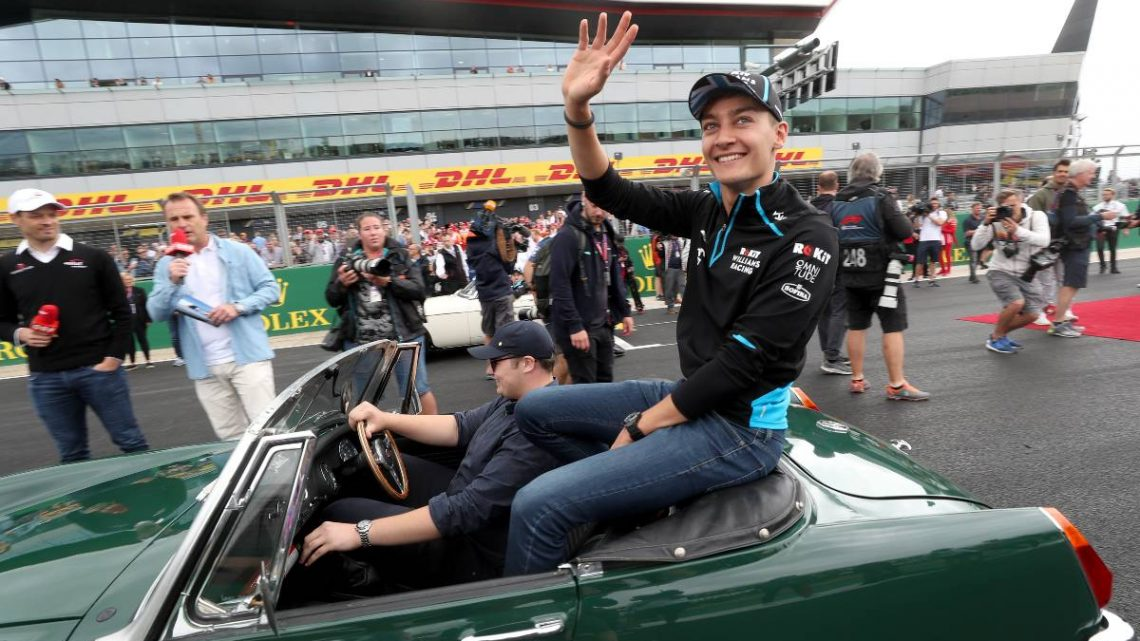 George Russell happy Silverstone won't be a 'ghost town' | Planet F1