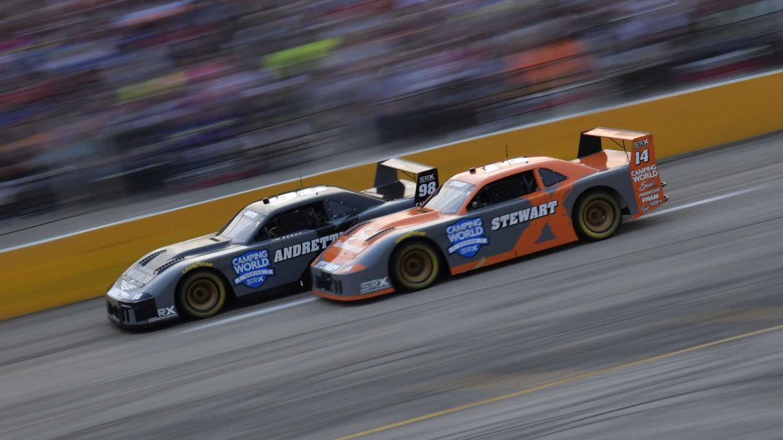 How Marco Andretti Covered the SRX Field at Slinger Speedway