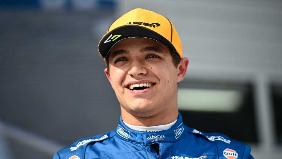 How Rising F1 Star Lando Norris Sees the Sport's Future Beyond 2022