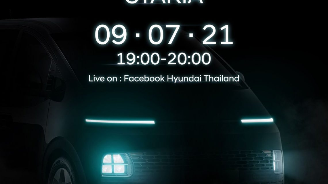 Hyundai Staria to be launched in Thailand next week – paultan.org