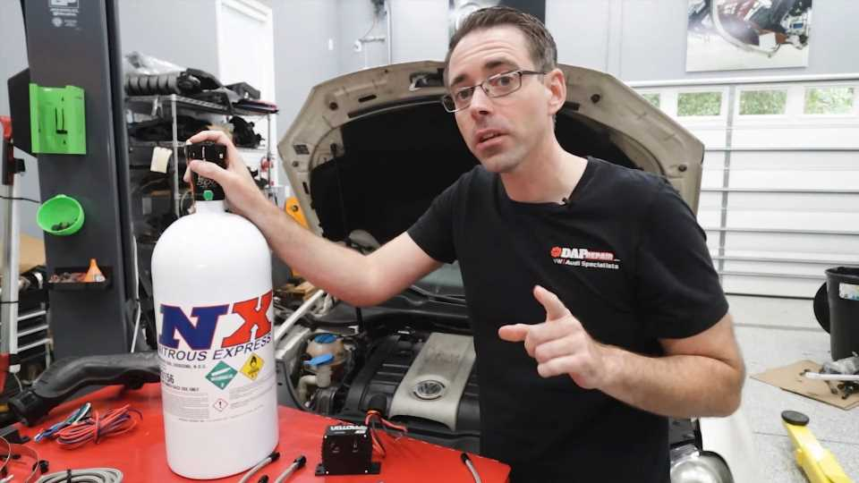 Installing Nitrous on Your Car Is Actually Pretty Straightforward, But Risky