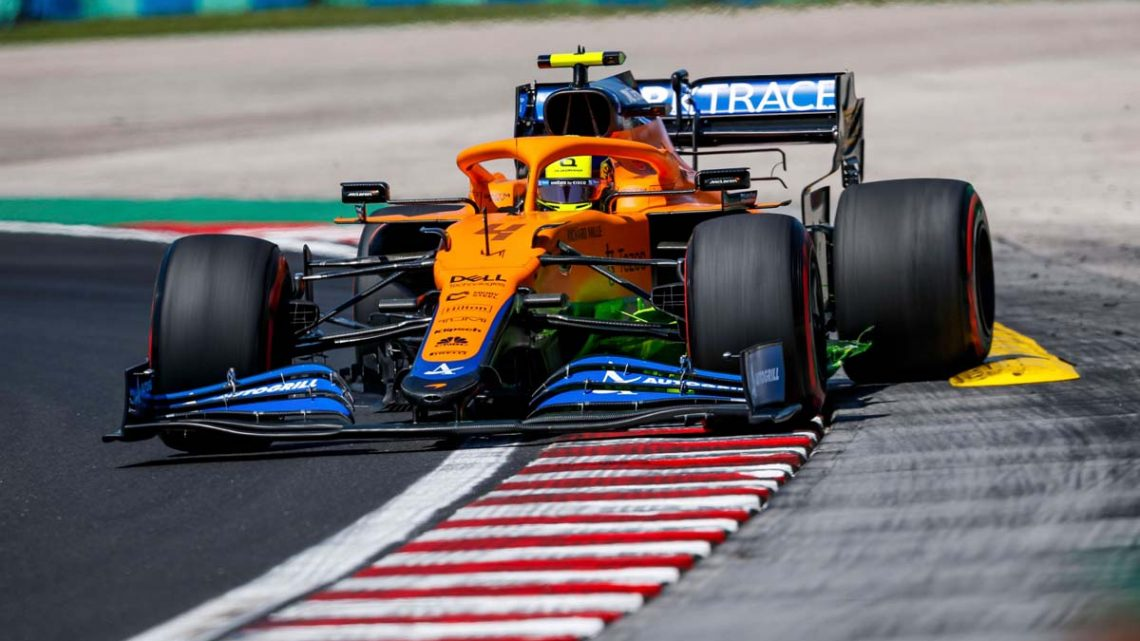 Lando Norris to do 'homework' after improved rival pace