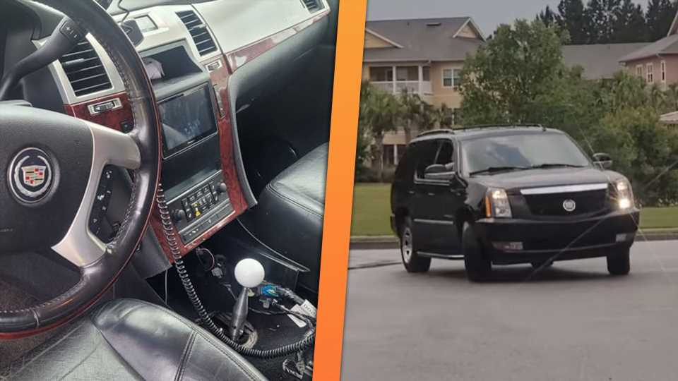 Manual-Swapped Cadillac Escalade Was Built for Drifting