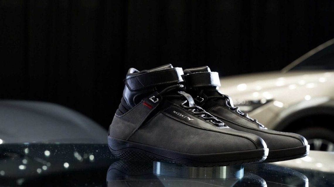 Mazda's New Pair Of Sneakers Is The Kodo Of Driving Shoes