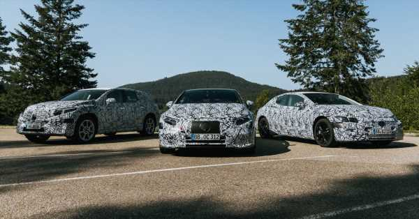 Mercedes-Benz EQS SUV, EQE to debut later this year? – paultan.org