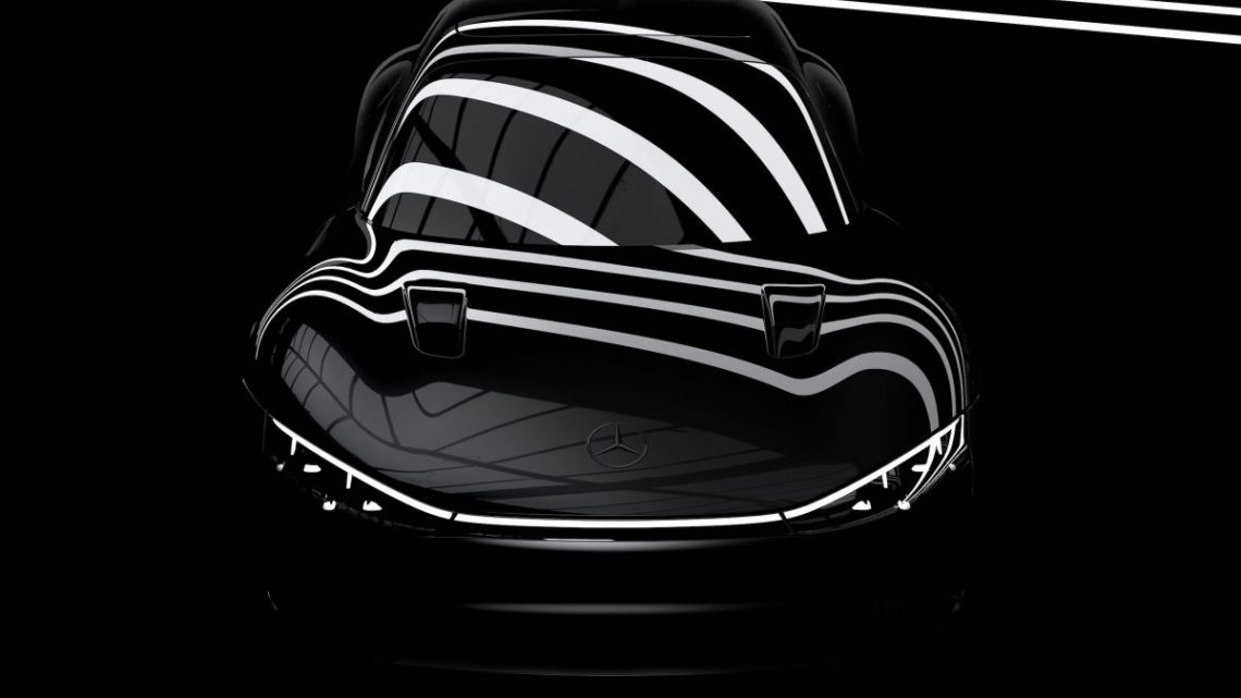 Mercedes-Benz Vision EQXX teased – debuts today – paultan.org