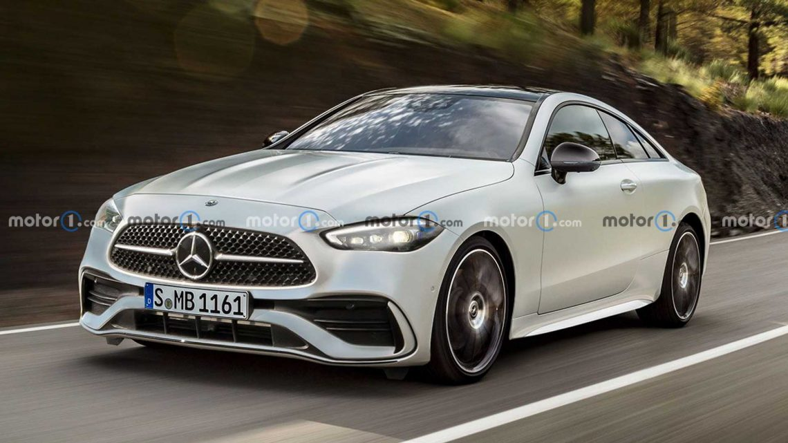 Mercedes CLE Coupe, Cabrio Rendered As Two-Door C,E Replacement