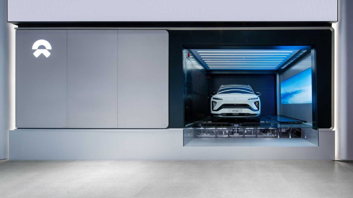 NIO To Install Over 4,000 Battery Swap Stations By End Of 2025