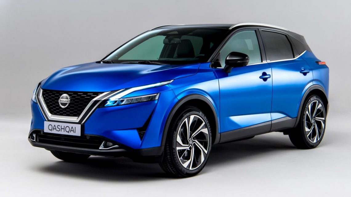 New 2021 Nissan Qashqai priced from £23,535