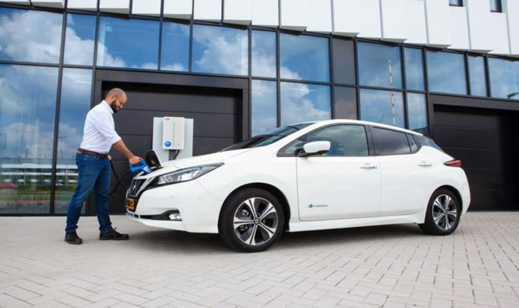Nissan and EDF launch new EV chargers which can send electricity back to National Grid