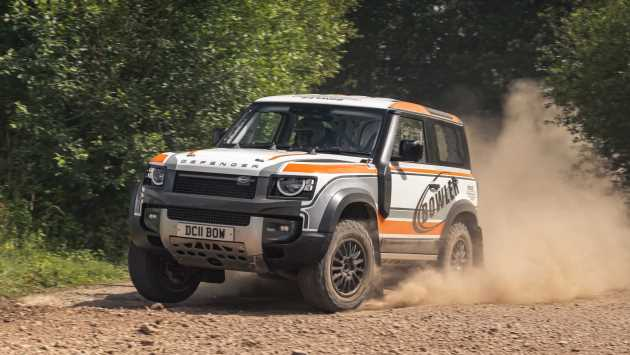 Rally-prepped Bowler Defender Challenge car unveiled