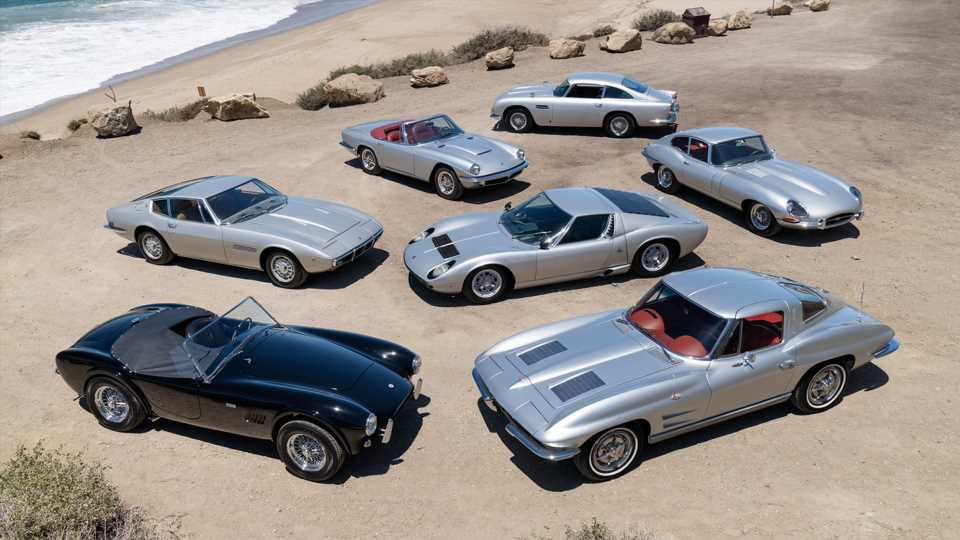 Rush Dummer Neil Peart's 'Silver Surfers' Classic Car Collection Is for Sale