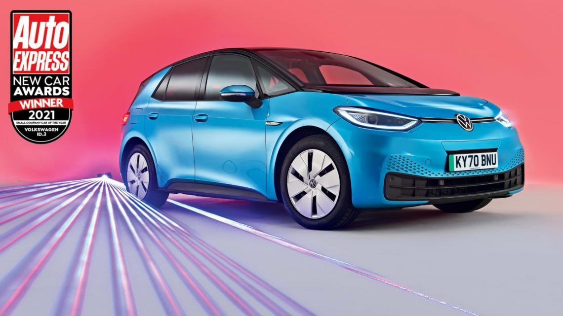 Small Company Car of the Year 2021: Volkswagen ID.3