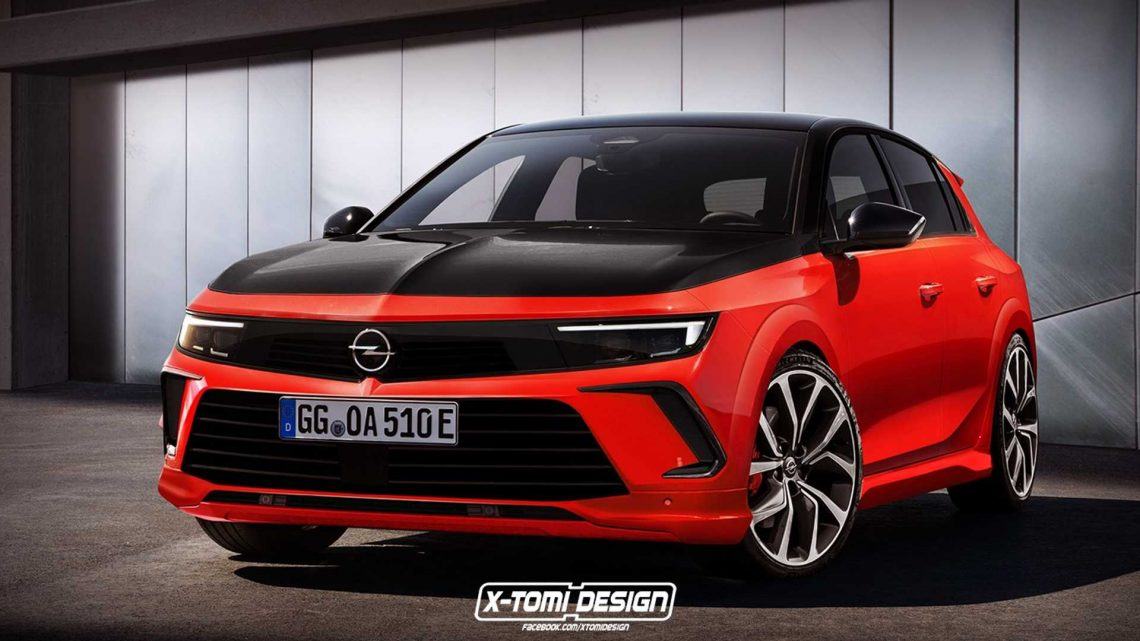 Sporty-Looking Opel Astra GSi Takes Shape In Unofficial Rendering