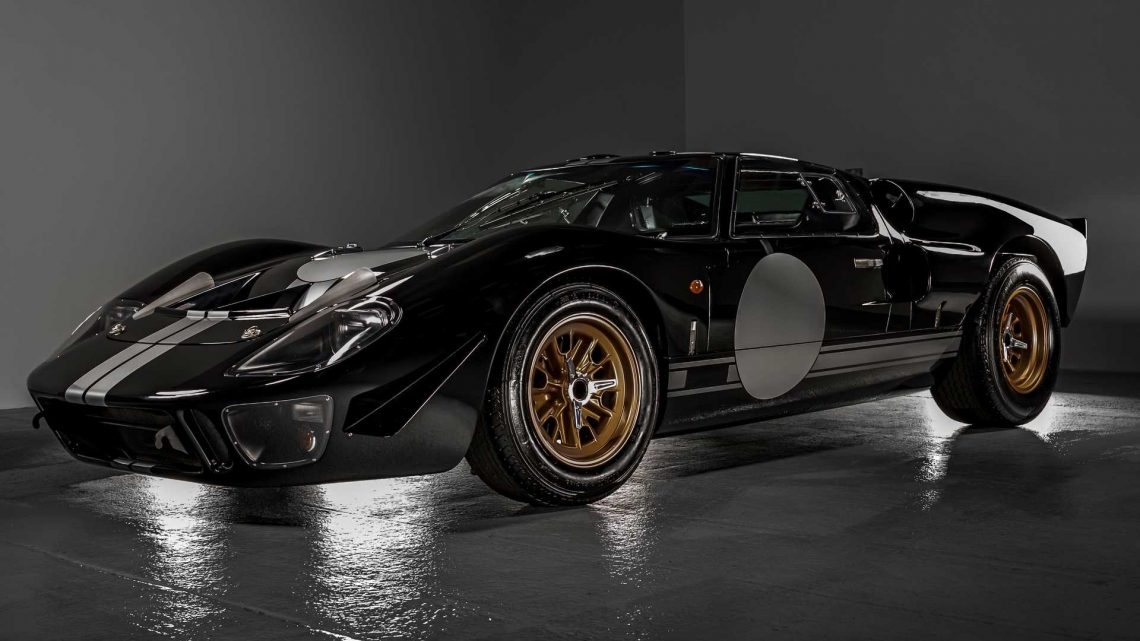 Superformance And Everrati Partner To Create Electric Ford GT40
