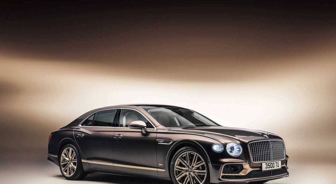 The Bentley Flying Spur Hybrid Launch Edition Is Green(er) Luxury