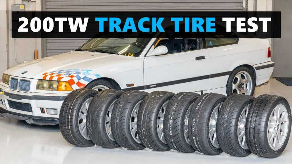 This Bonkers Track Tire Test Is The Most Detailed We've Ever Seen