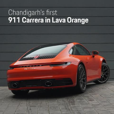 Three custom-painted Porsche 911s delivered in India