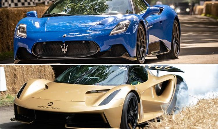 Top manufacturers show off road cars of the future at Goodwood Festival of Speed