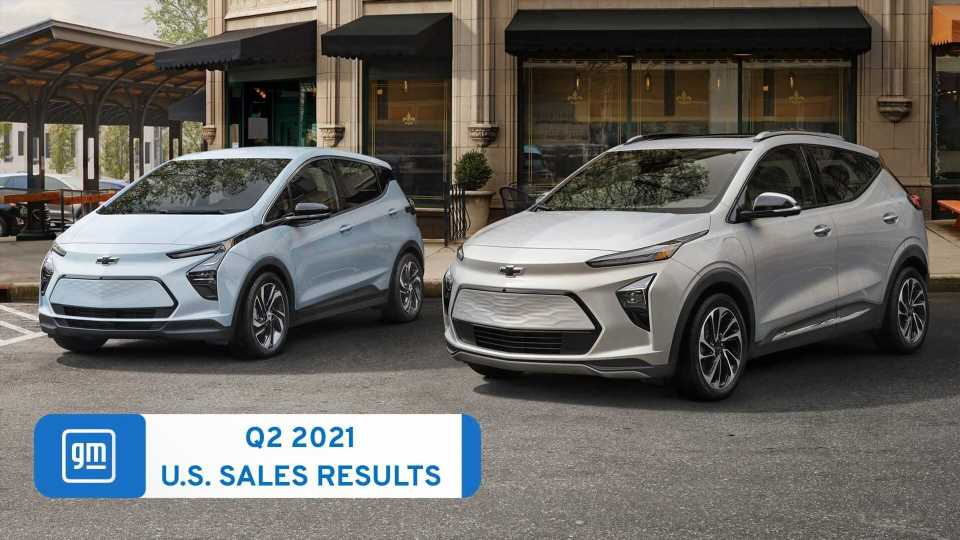US: Chevrolet Bolt EV And EUV Sales Exceed 11,000 In Q2 2021