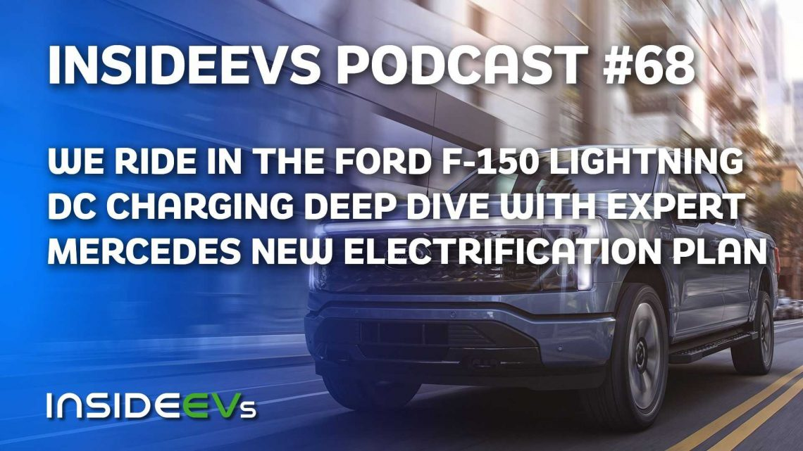 We Ride In Ford F-150 Lightning, Talk Charging Infrastructure