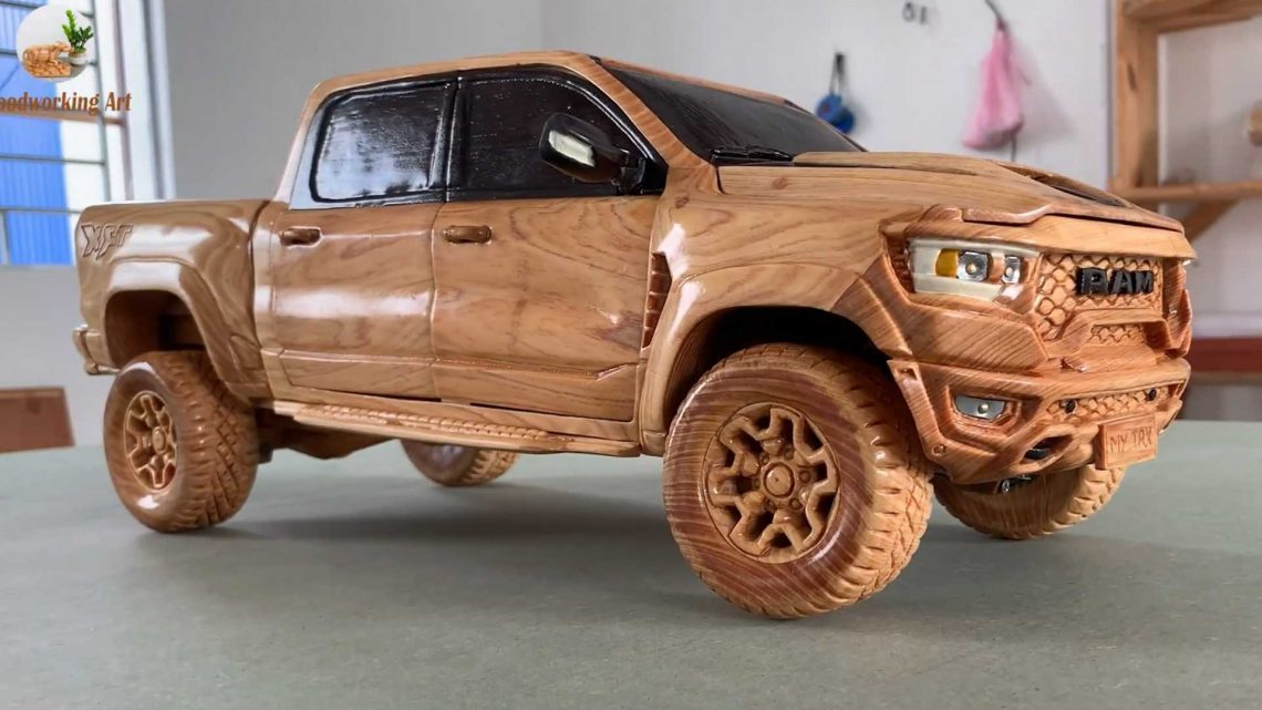 Wooden Ram 1500 TRX Pickup Looks As Tough As The Real One