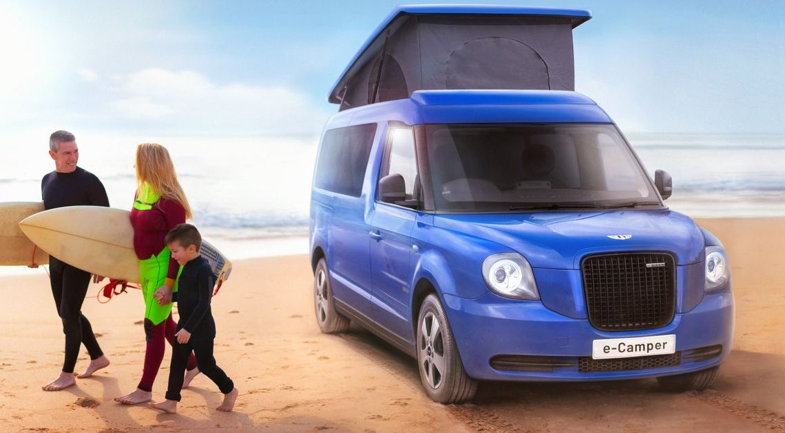 You Can Buy The Electric London Black Cab As A Camper Van