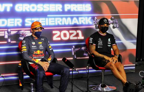 'Max's outburst puts Lewis Hamilton in position of strength'