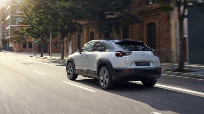 100-Mile 2022 Mazda MX-30 EV SUV Priced High, But Offers Gas-Fed Loaner Programa
