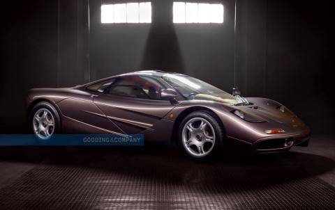 1995 McLaren F1 auctioned for record price of $20 million