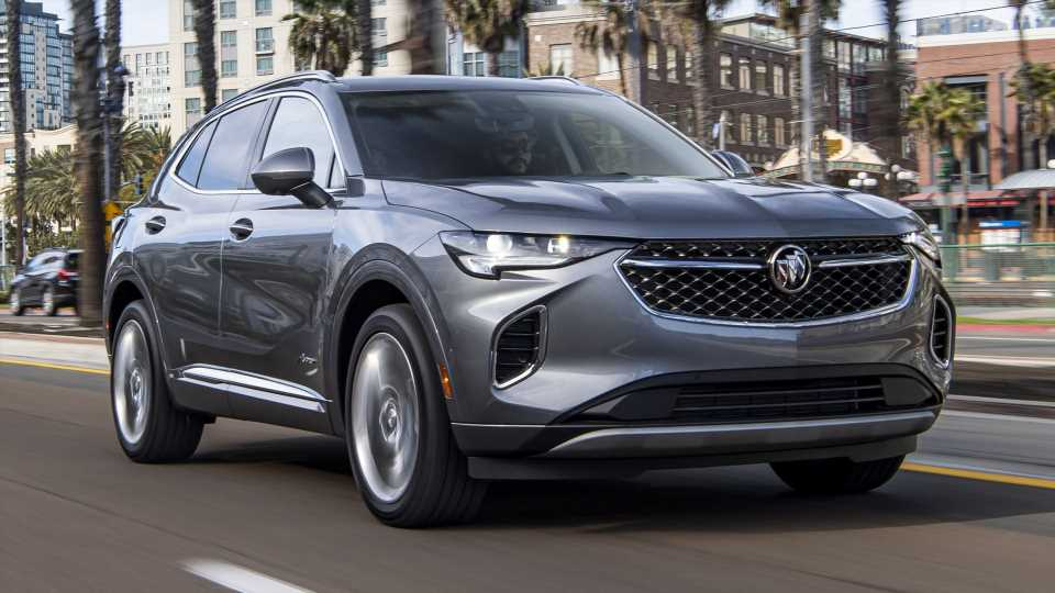 2021 Buick Envision Avenir: When Parts-Binning Pays Off