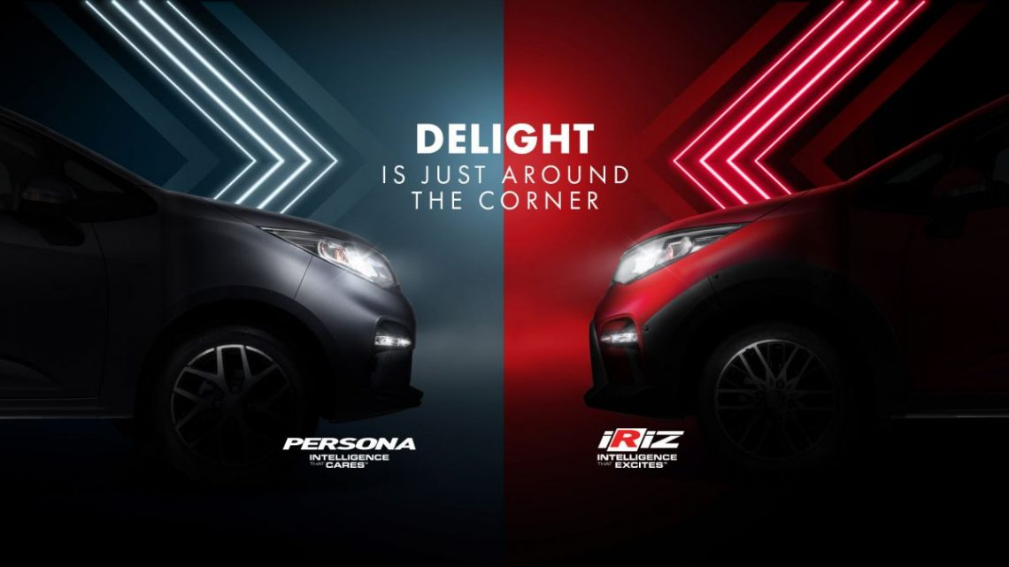 2021 Proton Iriz, Persona facelift official teaser – new SUV-style 'Iriz Active', centre console; floating screen – paultan.org