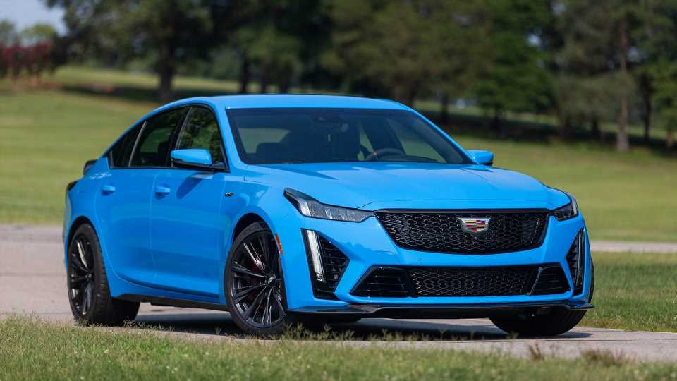 2022 Cadillac CT5-V Blackwing First Drive Review: A Grand Finale for Explosive V8 Manual Power