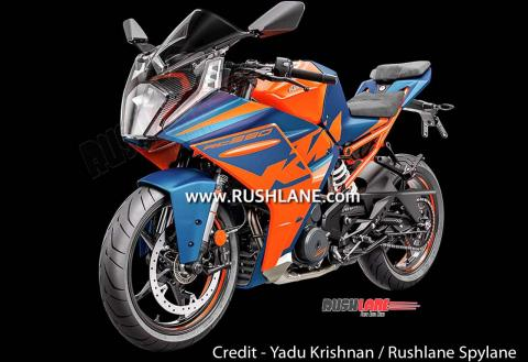2022 KTM RC390 leaked ahead of its launch