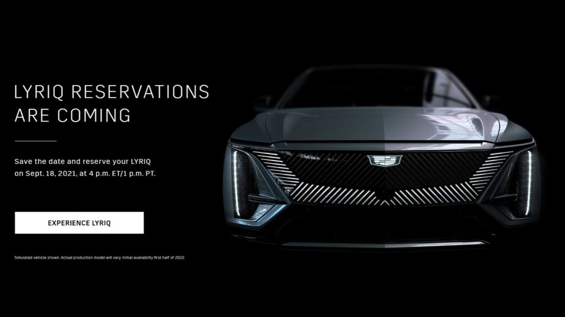 2023 Cadillac Lyriq Pre-Orders Start Sep. 18, Priced From $58,795
