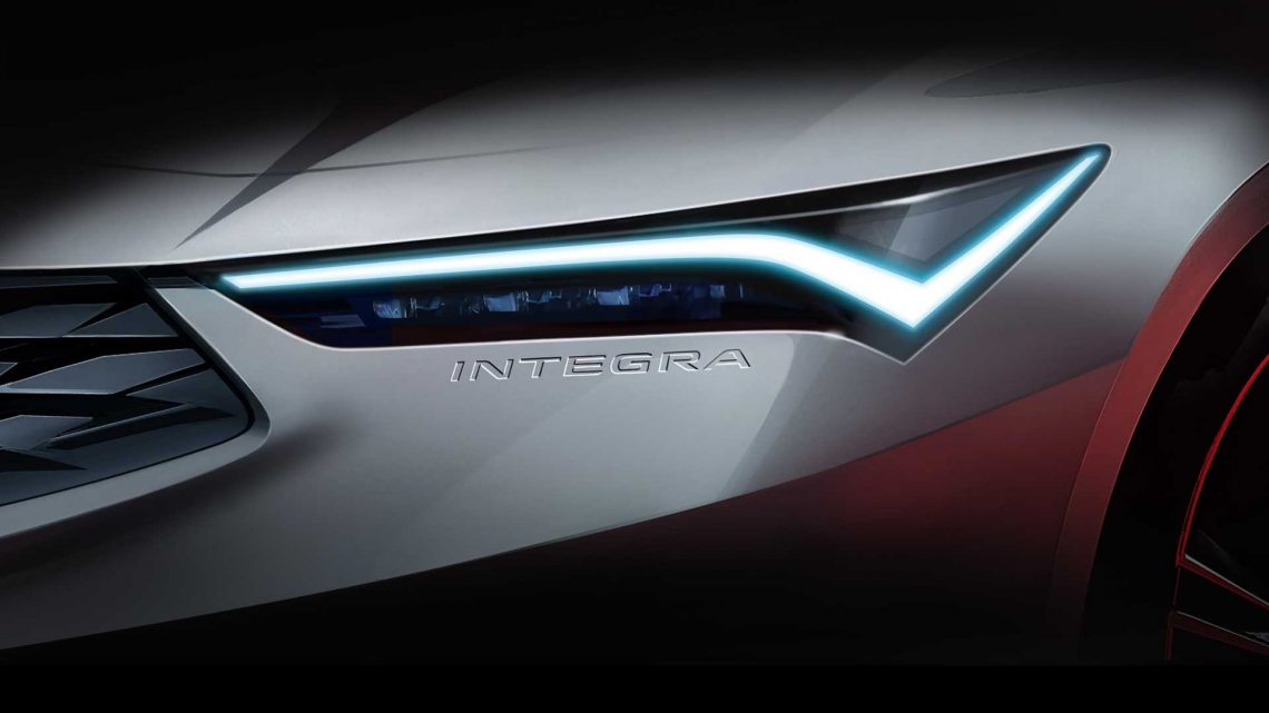 Acura Doesn't Rule Out Integra Two- And Four-Door Versions