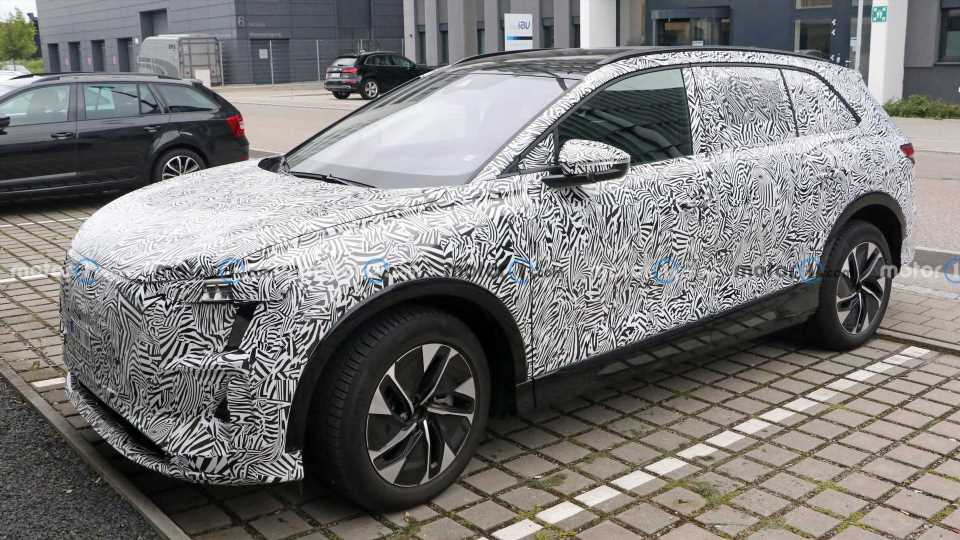 Audi Electric SUV For China Spied Looking Almost Ready For Production