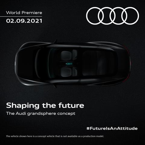 Audi Grand Sphere concept to be unveiled on September 2