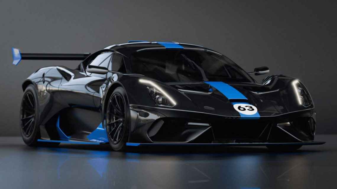 Brabham Expands Racing Efforts With New BT63 GT2 Concept Race Car