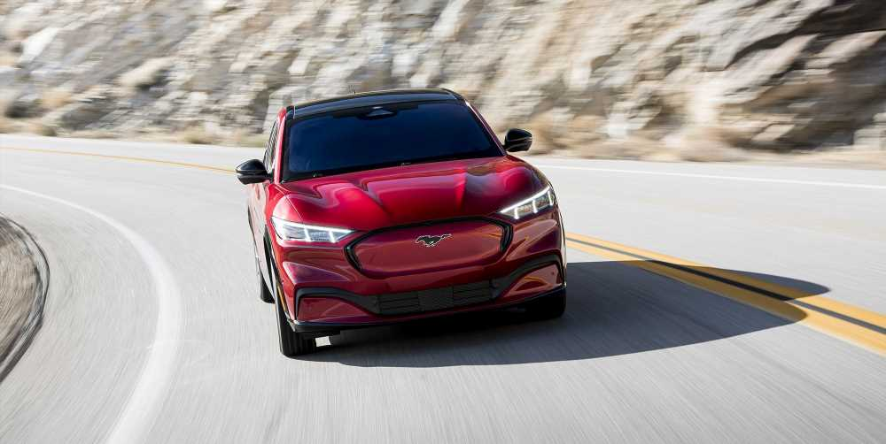 Chip Shortage Hits Ford Mustang Mach-E Production