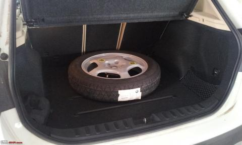 Customer takes carmaker to court over small-sized spare wheel