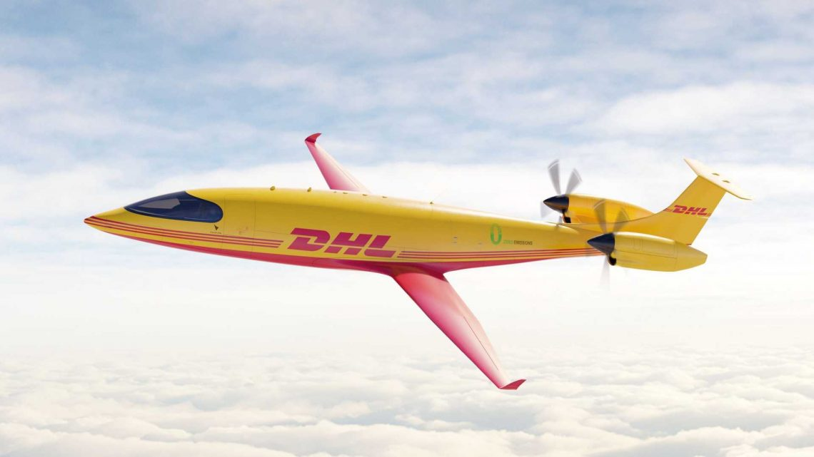 DHL Express Orders 12 All-Electric Eviation Alice Cargo Planes