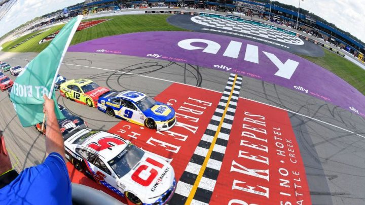 Gallery: Ryan Blaney puts Ford in NASCAR Victory Lane at Michigan