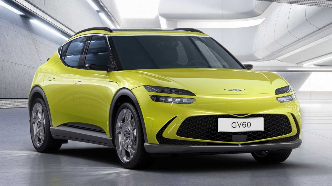 Genesis GV60 Revealed As Brand's First Electric Luxury SUV