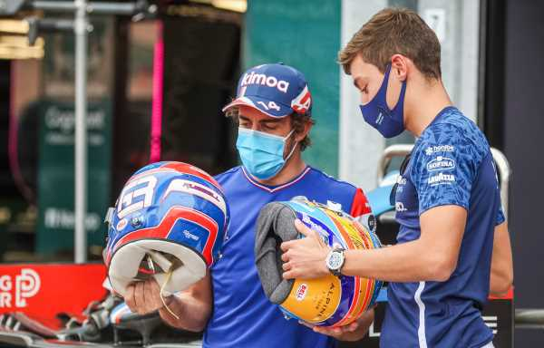 George Russell delighted with Alonso's praise, 'one of the greatest'