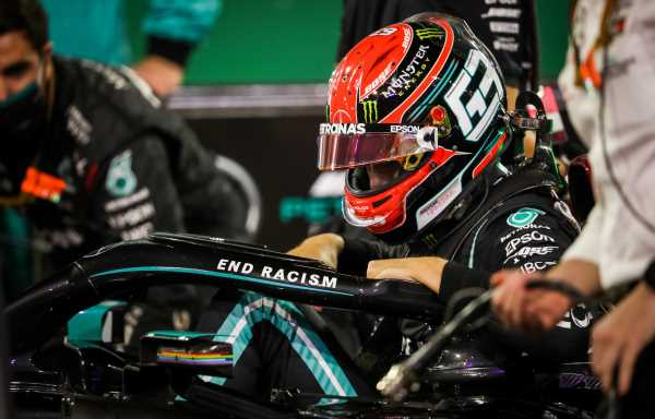 George Russell to test for Mercedes in Hungary