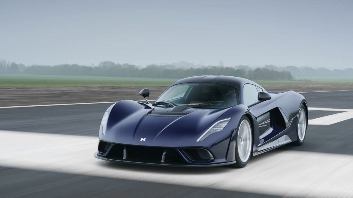 Hennessey Venom F5: 1,792bhp twin-turbo V8 hypercar now sold out