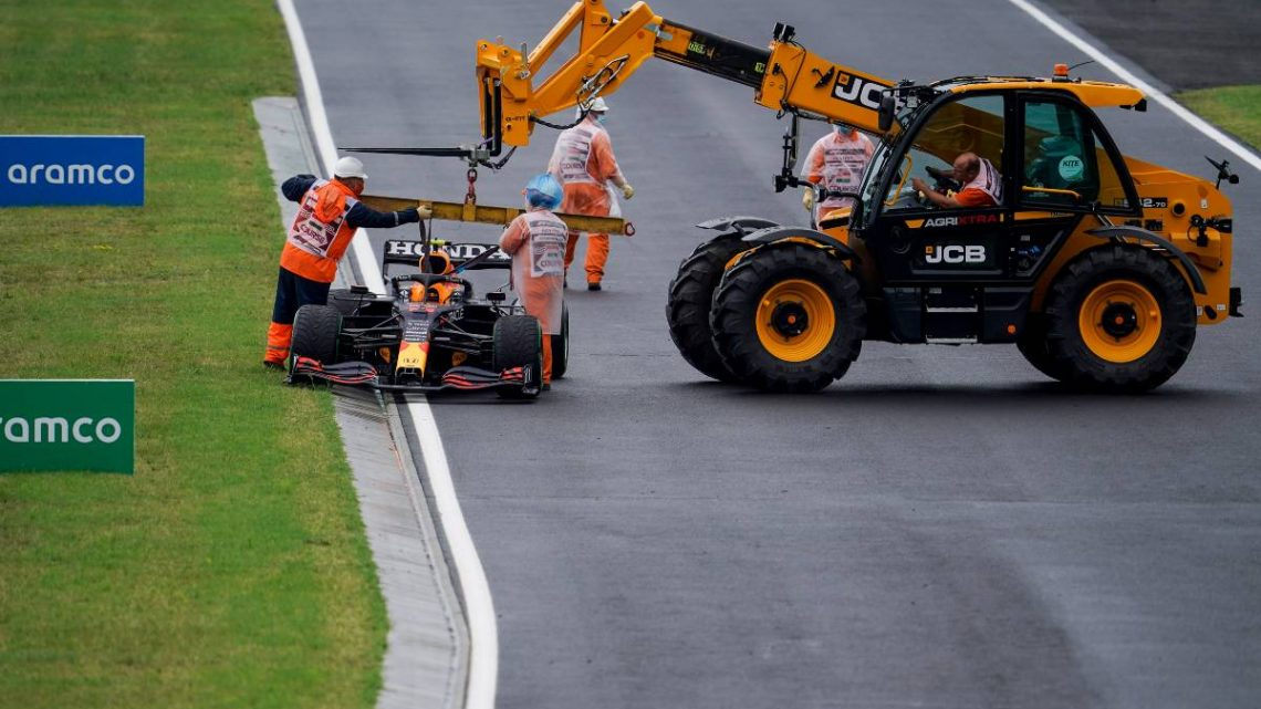 Hungary Lap 1 chaos left Honda 'hugely frustrated'