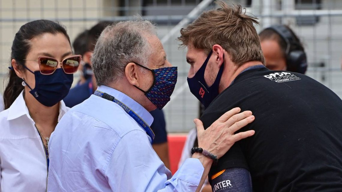 Jean Todt's take on Silverstone clash: 'That's racing'   Planet F1