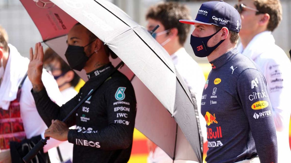 Lewis Hamilton/Max Verstappen rapport may be damaged beyond repair